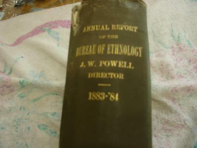 Annual report of the Bureau of Ethnology 1883-84 (Indian History)