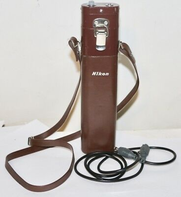 Nikon F36 Motor Brown Cordless Battery Pack With 3' Connecting Cord From 1967