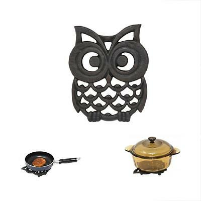 Cast Trivets Iron Owl Trivet. Makes Perfect Gift - By Home-X