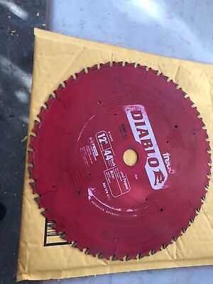 used Diablo Saw Blades 12 Inch 44 tooth carbide
