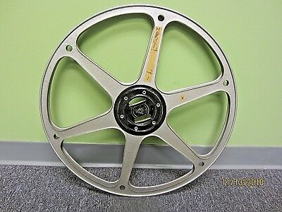 """23"""" 6000' capacity Bauer16mm Motion Picture projector  Reel"""
