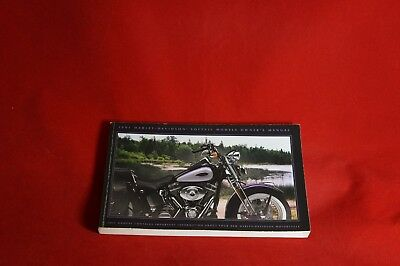 2001 Harley Davidson Softail Owner Manual