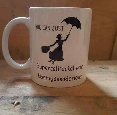 Mary Poppins Funny Rude Novelty Office Present Mug Gift Cup 350