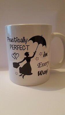 Mary Poppins Novelty Office Present Mug Gift Cup 351
