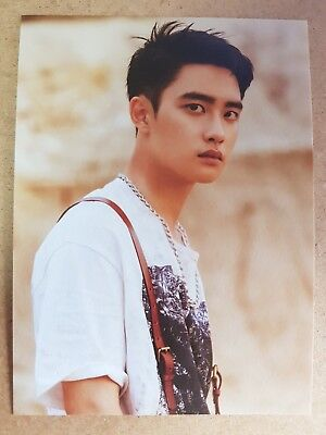 EXO DIO D.O. USA Official Postcard PHOTOCARD [DON'T MESS UP MY TEMPO] 5th Album