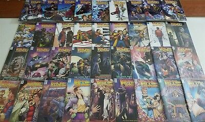 Back To The Future #1-25 + Citizen Brown Idw Comic Complete Full Runs Lot, Nm/m