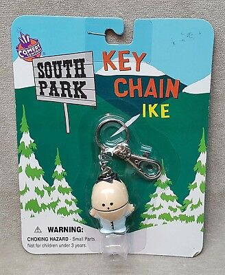 "1998 Comedy Central South Park Keychain in Package ""Ike""."