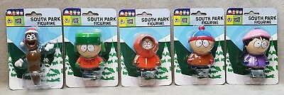 5 South Park 1999 Comedy Central Figures in Packages.