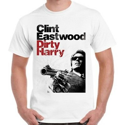 Dirty Harry 70s Movie Clint Eastwood Vintage Retro T Shirt 247