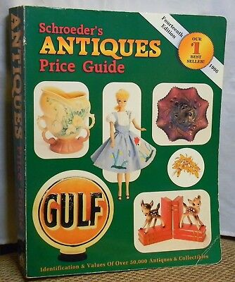Schroeder's Antiques Price Guide 1996 Softcover Book