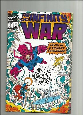 Marvel Comics The Infinity War #3 Death In A Distant Dimension