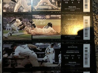 2018 Justus Sheffield Debut New York Yankees Vs Red Sox Mint Ticket Stub 9/19