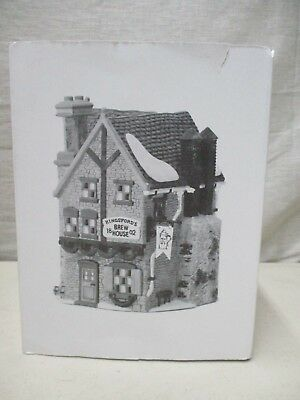 Dickens Village Dept 56 Christmas Kingsford Brew House 5811-4 In Original Box