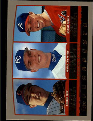 2000 Topps Limited Royals Baseball Card #447 S.Downs/C.George/M.Belisle/4000