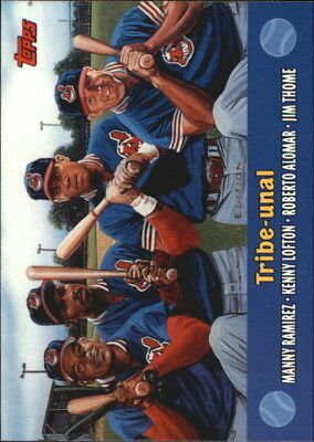 2000 Topps Limited Combos Cleveland Indians Baseball Card #TC1 Tribe-unal/4000
