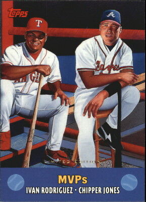 2000 Topps Limited Combos Baseball Card #TC9 MVP's/4000