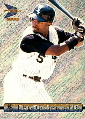 2000 Pacific Prism Rapture Silver White Sox Baseball Card #31 Ray Durham/916