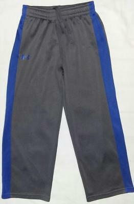 Youth Boys Under Armour Gray/royal Blue Athletic Pants Clothes 7 Might Fit 5 6