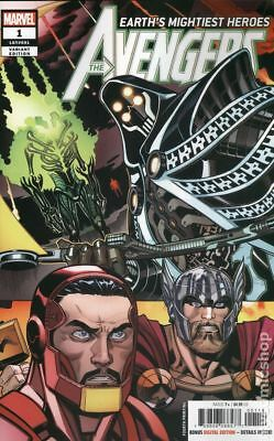 Avengers (8th Series) 1J 2018 McGuinness Variant 4th Printing NM Stock Image