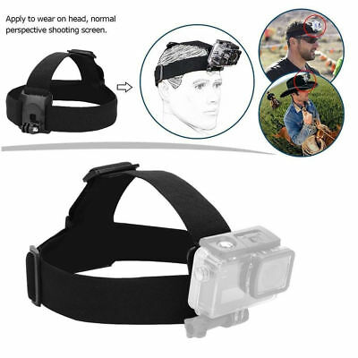 Adjustable Elastic Headband Head Strap Belt Mount for Action Sport Camera DH
