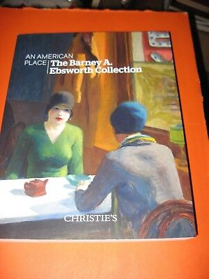 Barney Ebsworth Collection American Art Auction  Christie's Catalog November 13