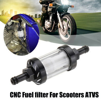 High Performance CNC Fuel Filter For 50cc 150cc Scooters ATVs Karts Motorcycles