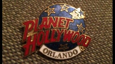 Planet Hollywood Orlando Pin Red White Blue