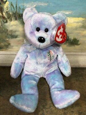 8ce39219992 Ty Beanie Baby ~ JAKARTA ISSY the Four Season s Bear ~ MWMT 2001 RARE  EXCLUSIVE