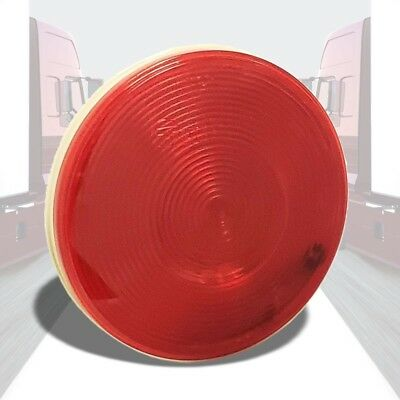 Truck-Lite 40 Economy 40282R Red Round Grommet Mount Turn/Stop/Tail Light/Lamp
