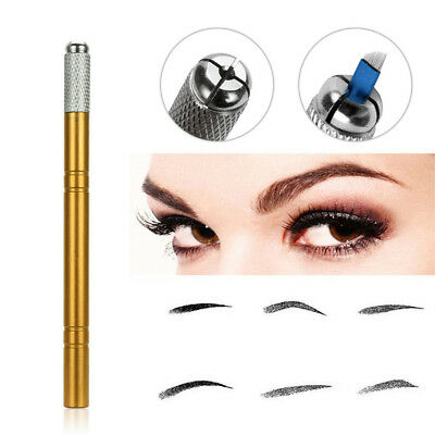 Stylo semi permanent maquillage sourcil imperméable stylo de tatouage de