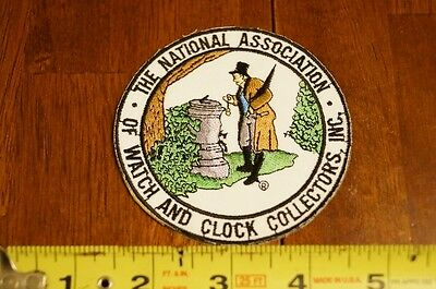 National Association of Watch and Clock Collectors Official Patch