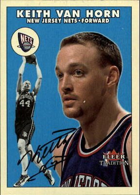 new concept b2b2d 07029 2000-01 FLEER LEGACY New Jersey Nets Basketball Card Keith ...