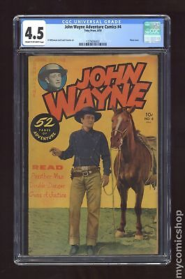 John Wayne Adventure Comics #4 1950 CGC 4.5 1270656003