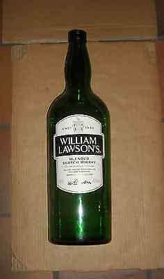 BOUTEILLE WILLIAM LAWSONS BLENDED SCCOTCH Whisky 4,5 LITRE VIDE