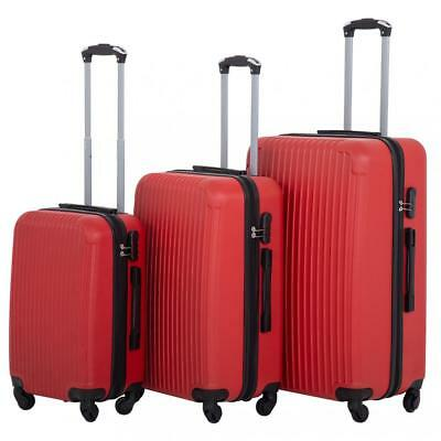 Suitcase Luggage Sets 3 Piece Travel Carry Expandable with Password Lock Durable