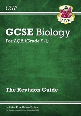 New Grade 9-1 GCSE Biology: AQA Revision Guide with Online Edition 9781782945567