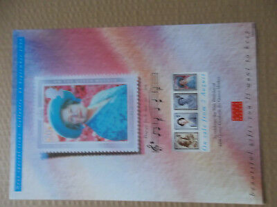 Royal Mail A4 Post Office Poster 1990 Queen Mothers 90Th Birthday