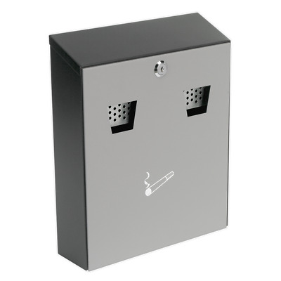 RCB01 Sealey Cigarette Bin Wall Mounting [Cigarette & Litter Bins]