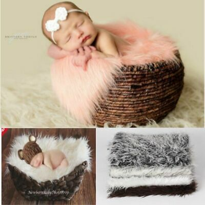 2018 Newborn Infant Baby Soft Blanket Rug Mat Photo Photography Backdrops Props