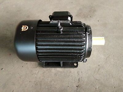 Air Compressor Electric Motor 3 Phase 4 Hp 3 Kw New Ct424 Reduced Last Few