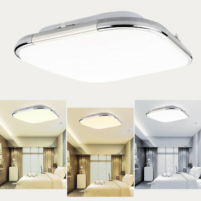 Modern Square Ceiling Down Light Surface-Mounted Flush Mount Dimmable LED Lamp