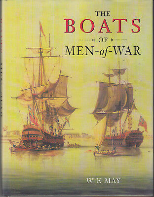 The Boats of Men-of-War by May Revised Edition HB in DJ
