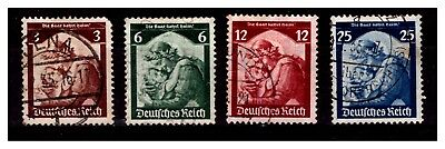 Germany Deutsches Reich Stamps 1935 Used lot-1138