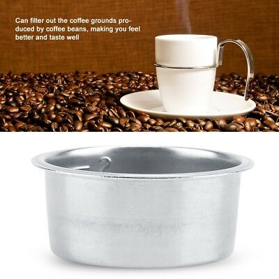 Stainless Steel Coffee Cup 52mm Non Pressurized Filter Basket For Breville NEW