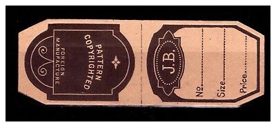 J.B. Paper Sewing Needle Case??. Mint.  #780