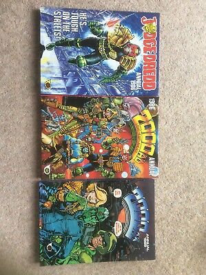 2000AD And Judge Dread ANNUAL 1986 And 2000ad 1998