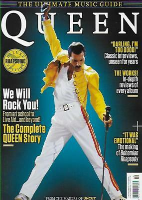 ULTIMATE MUSIC GUIDE MAG FROM UNCUT-QUEEN*Post included to UK/Europe/USA