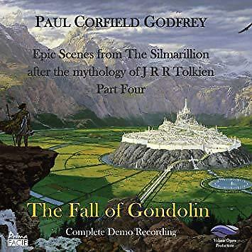 Paul Corfield Godfrey - The Fall Of Gondolin (NEW 2CD)