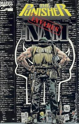 Punisher Invades The 'Nam TPB (Marvel) Final Invasion #1-1ST 1994 NM Stock Image
