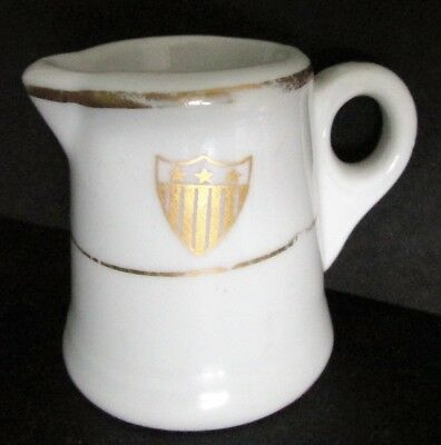 USSB United States Shipping Board US Lines Steamship Ocean Liner China Creamer